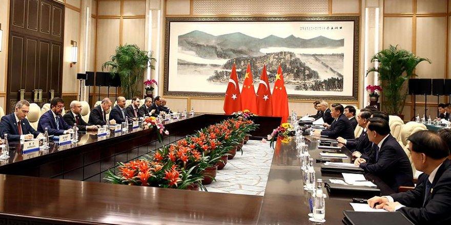 Türkiye ile Çin arasında 3 anlaşma imzalandı