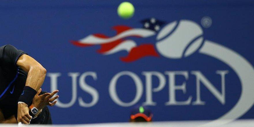 ABD Açık'ta favori tenisçiler yollarına devam etti