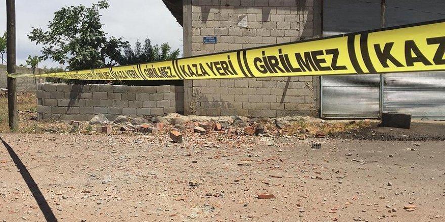 Kilis kent merkezine 2 roket mermisi düştü