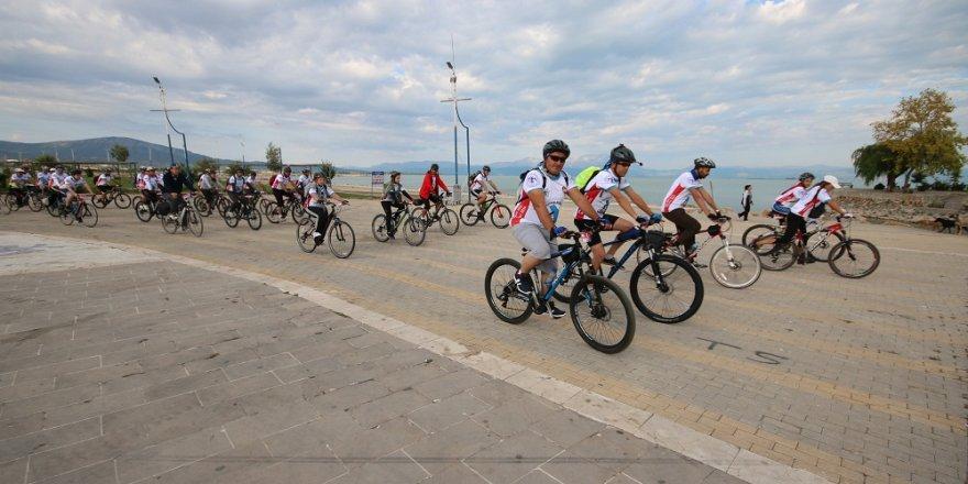 Beyşehir Gölü Bisiklet Festivali başladı