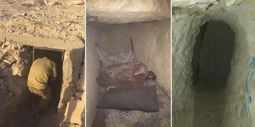 DAEŞ'in keskin nişancılarının kullandığı gizli tünel bulundu
