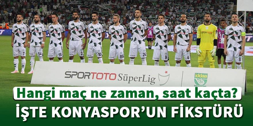 Konyaspor'un lig maçlarının tarihleri açıklandı