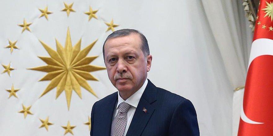 Erdoğan, Suudi Arabistan Veliaht Vekili Salman'ı kabul etti