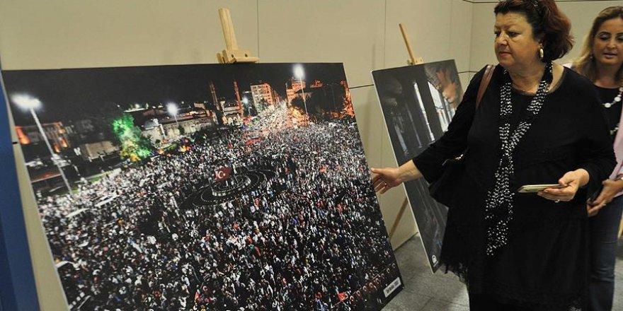 '15 Temmuz Milli İradenin Yükselişi' fotoğraf sergisi açıldı