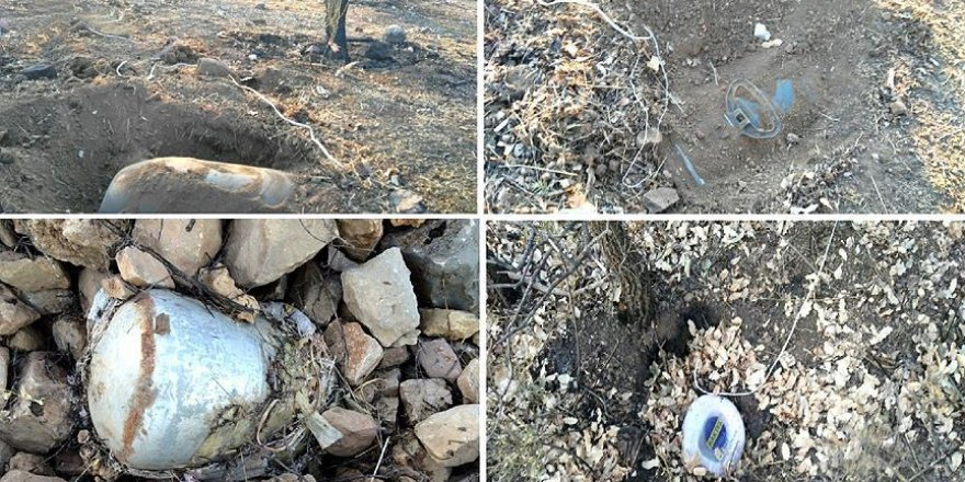 Diyarbakır'da 6 el yapımı patlayıcı imha edildi