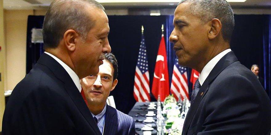 Erdoğan ile Obama'nın görüşmesi sona erdi