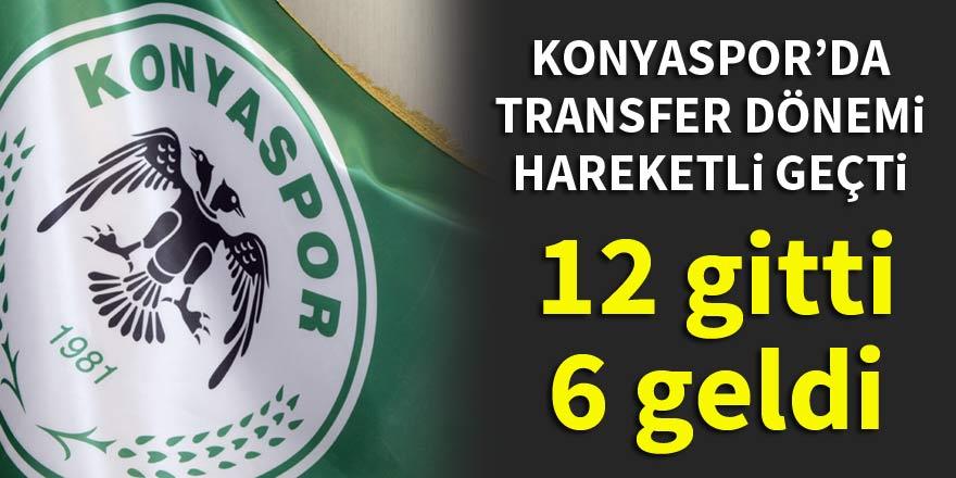 Konyaspor'da transfer dönemi hareketli geçti