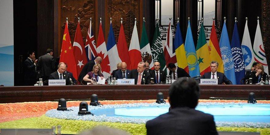 G20 Liderler Zirvesi'nde o konuya önemli vurgu