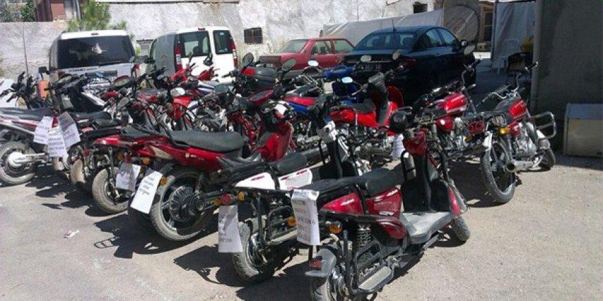 Konya'da motosiklet hırsızları yakalandı