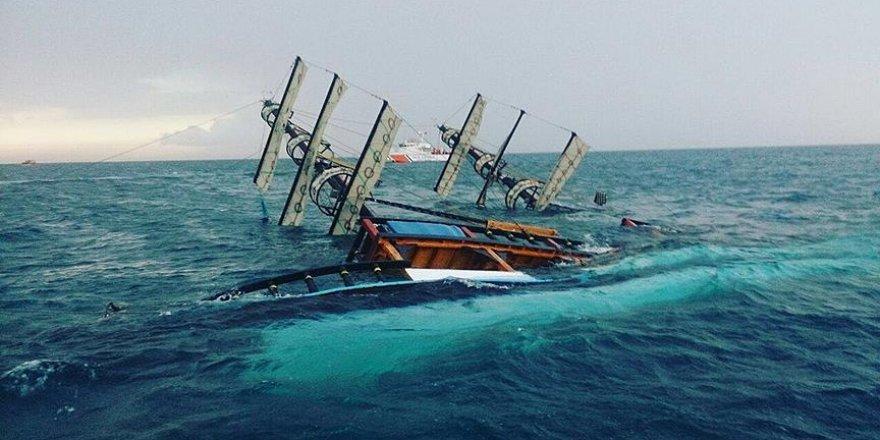 Antalya açıklarında batan tur teknesiyle ilgili 4 gözaltı