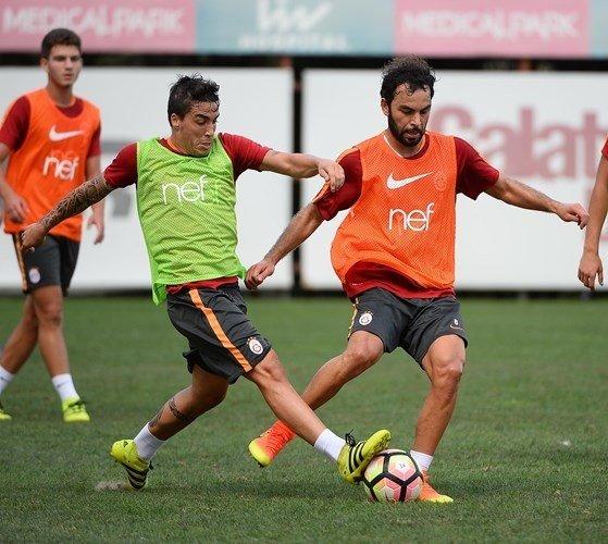 Galatasaray, Kayserispor maçı hazırlıklarını sürdürüyor