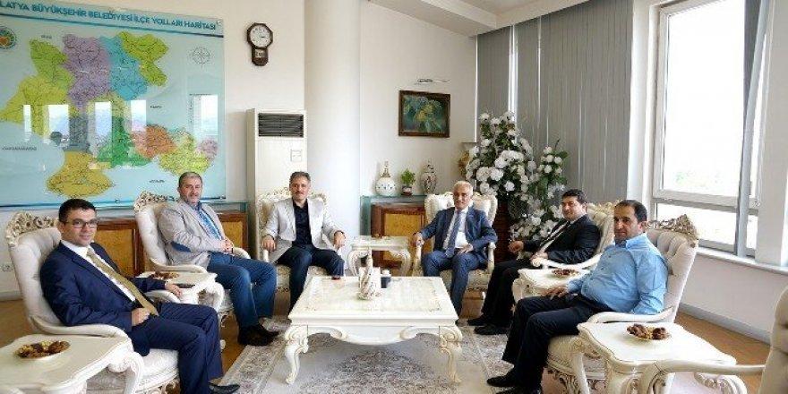 MÜSİAD Başkanı Olpak'tan, Çakır'a ziyaret