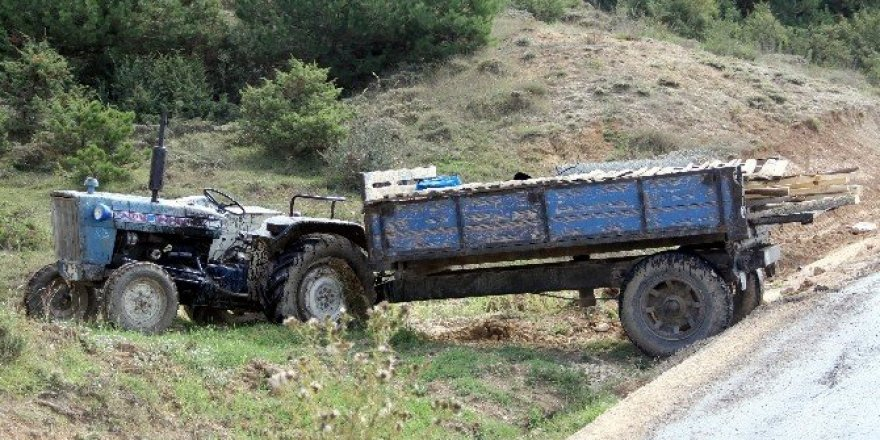 Kastamonu'da traktör kazası: 1 yaralı