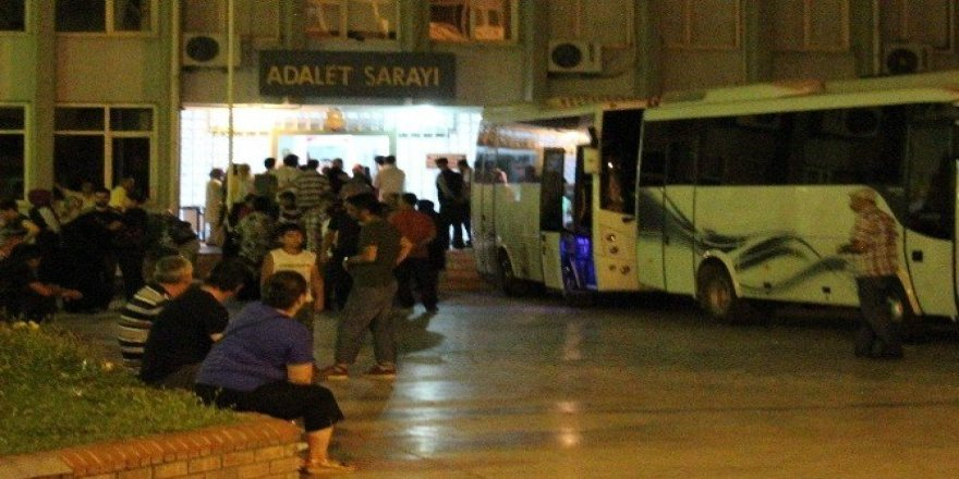 Aydın'da tutuklu sayısı 437'ye yükseldi