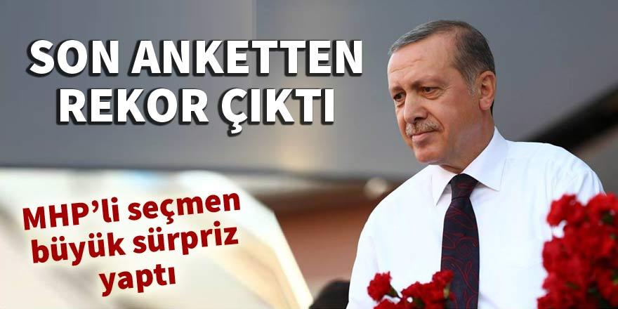 Erdoğan'a rekor sayıda destek