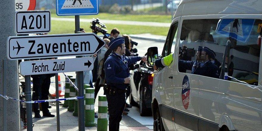 Brüksel havalimanına terörle mücadele ekibi