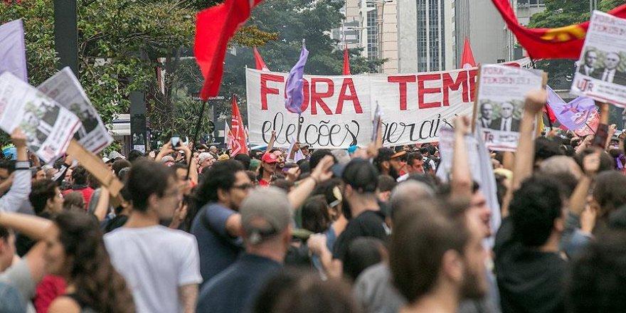 Brezilya'da protesto