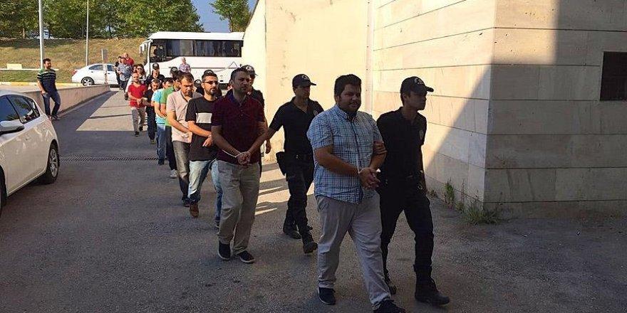 Zonguldak'ta 1'i kadın 12 kişi tutuklandı