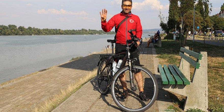 Almanya'dan Türkiye'ye pedal çeviriyor