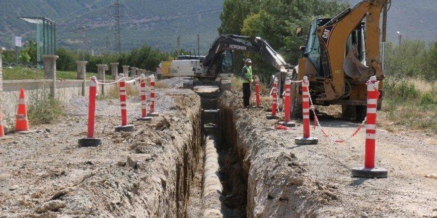 Akşehir'de 2 mahalle daha kanalizasyona kavuşuyor