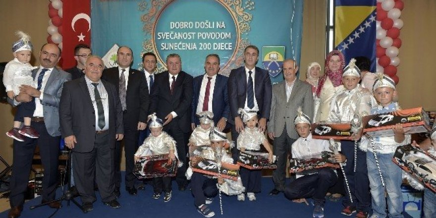 Mamak Belediyesi'nden Bosna'da sünnet şöleni