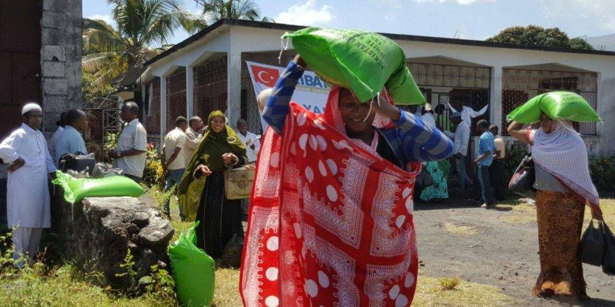 Ribat'tan Komor Adaları'na yardım eli