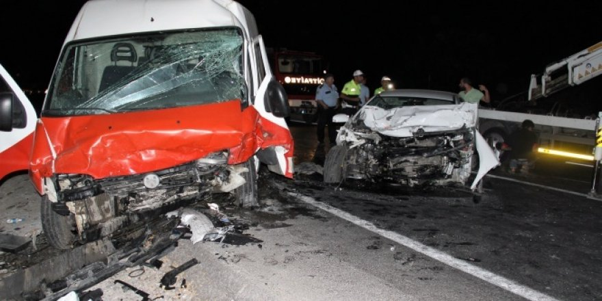 Bodrum'da korkunç kaza: 1 ölü, 4 yaralı