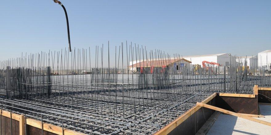 Karatay'da yeni caminin temeli dualarla atıldı