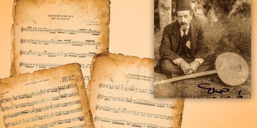 Tanburi Cemil Bey ölümünün 100. yılında konserle anılacak