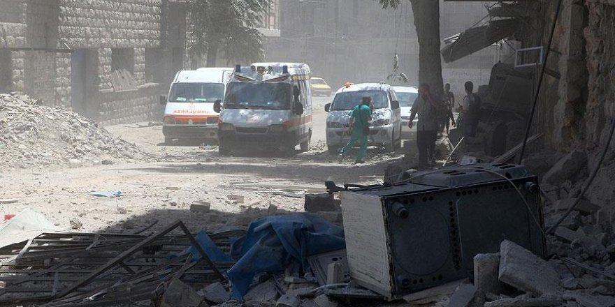 Esed rejimi Halep'e klor gazıyla saldırdı