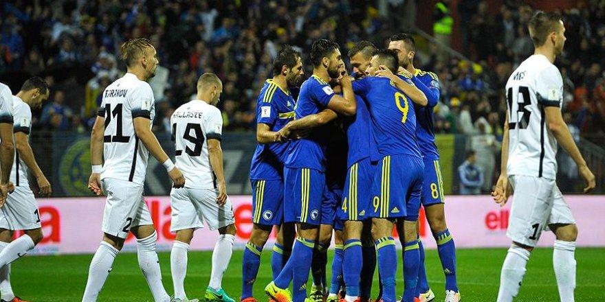 Bosna Hersek Estonya'yı farklı yendi