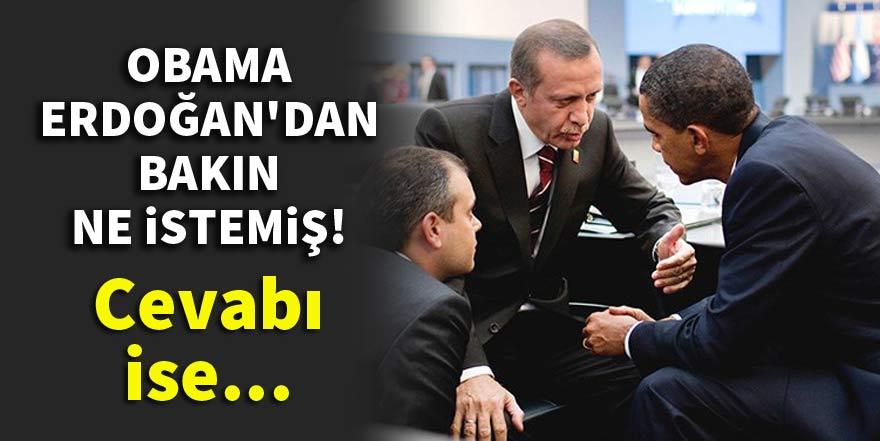 Obama'dan Recep Tayyip Erdoğan'a teklif