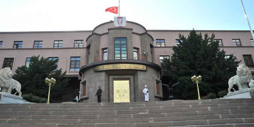 540 askeri personel geçici olarak görevlerinden uzaklaştırıldı