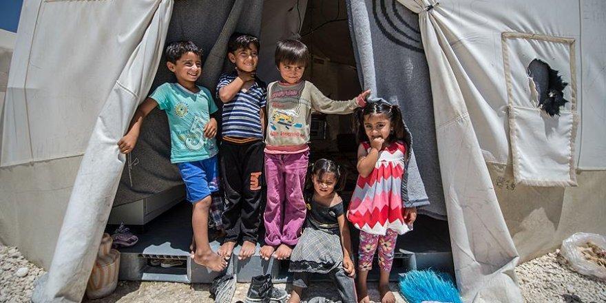 28 milyon çocuk mülteci ve sığınmacı durumuna düştü