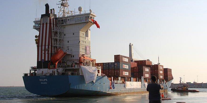Türkiye'den gönderilen ikinci yardım gemisi Gazze'ye ulaştı