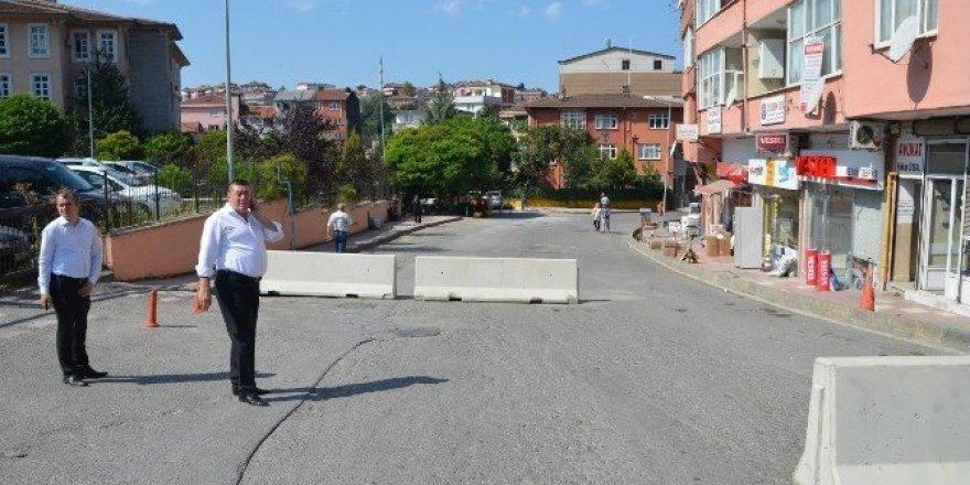 Alaplı  ilçesine 60 ton asfalt dökülecek