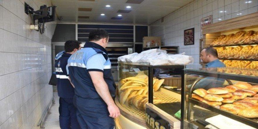 Dursunbey'de ekmeğe zam