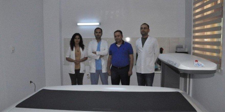 Tunceli'ye modern kemik ölçüm cihazı alındı