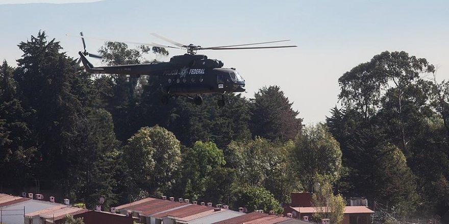 Saldırıya uğrayan polis helikopteri düştü: 4 ölü