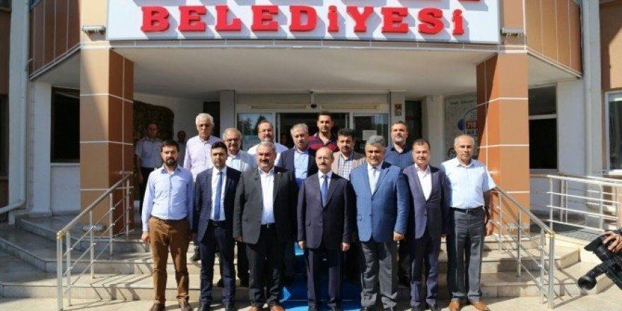 AK Parti Genel Başkan Yardımcısı Sorgun'dan Başkan Özgüven'e ziyaret