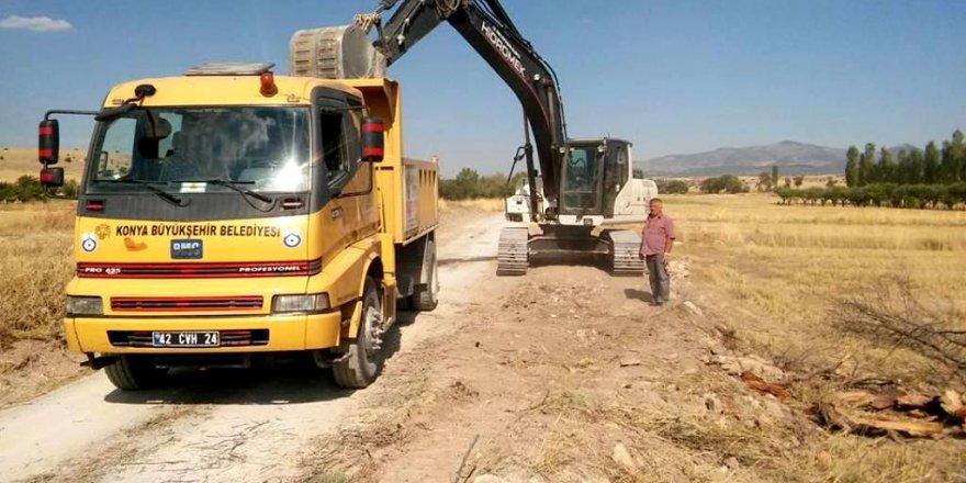 Seydişehir'de yol çalışmaları