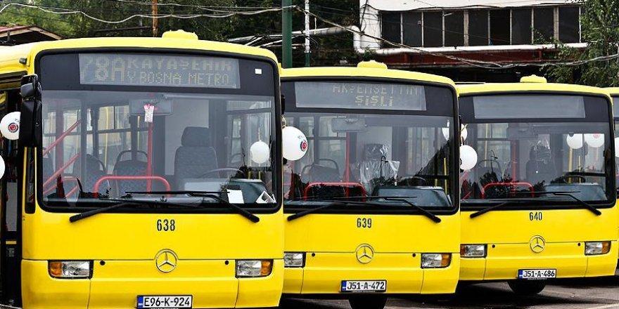 İstanbul otobüsleri Saraybosna trafiğinde