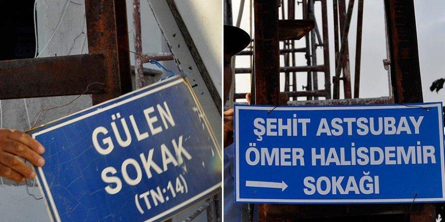 'Gülen Sokağı'nın ismi 'Şehit Astsubay Ömer Halisdemir Sokağı' oldu