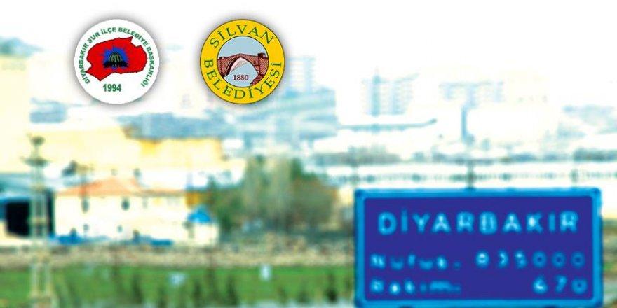 Diyarbakır'ın HDP'li Sur ve Silvan belediyelerine kayyum atandı