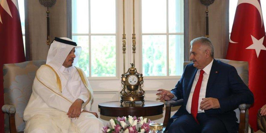 'Katar Türkiye ile müstesna bir dayanışma gösterdi'