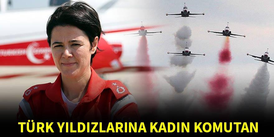 Türk Yıldızları'na kadın komutan