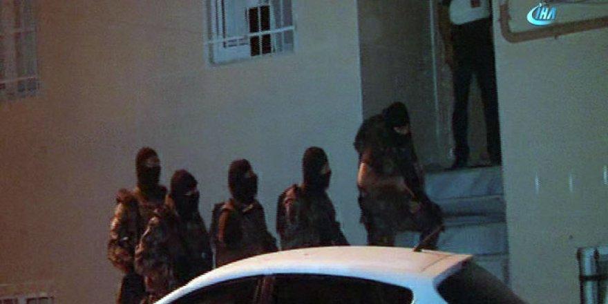 İstanbul'da helikopter destekli narkotik operasyonu