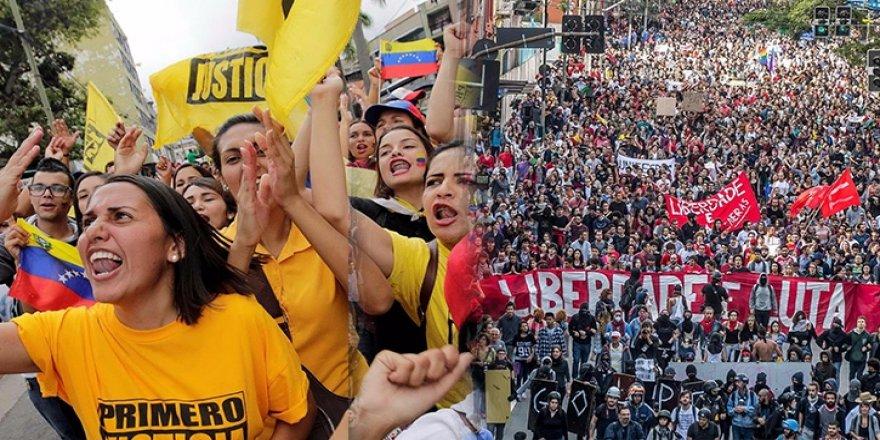 Darbe yanlısı ve darbe karşıtları sokakta