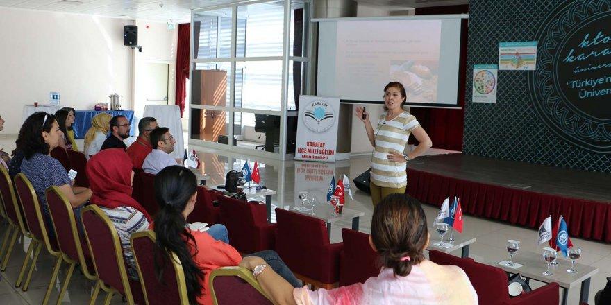 Konya'da beslenmenin temelleri KTO Karatay Üniversitesi'nde atılıyor