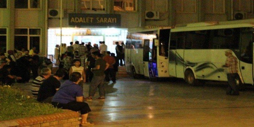 Aydın'da tutuklu sayısı 465'e yükseldi